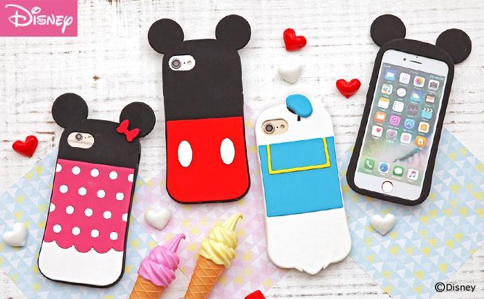 15e1d1f776 かわいい♪ディズニーキャラクターのシリコン iPhoneケース | Hamee fun