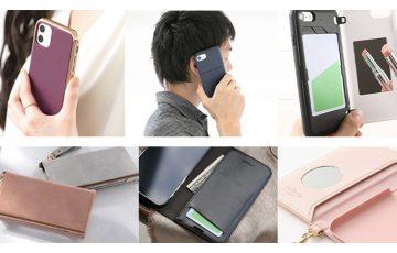iPhoneケース カード収納