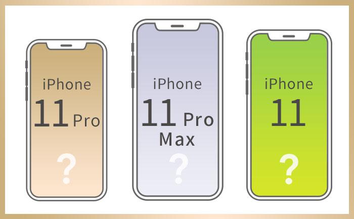 気になる新型iPhone2019の正式な製品名はどうなりそう?
