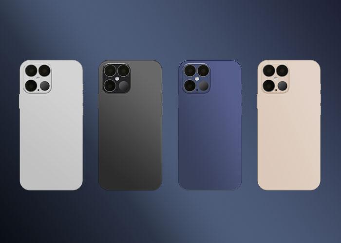 iphone12Proのカラーバリエーション
