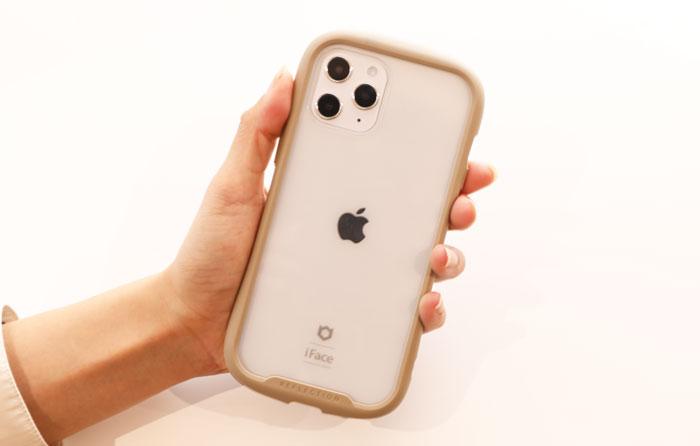 iPhone 12 Pro MaxをiFaceReflectionにいれた様子
