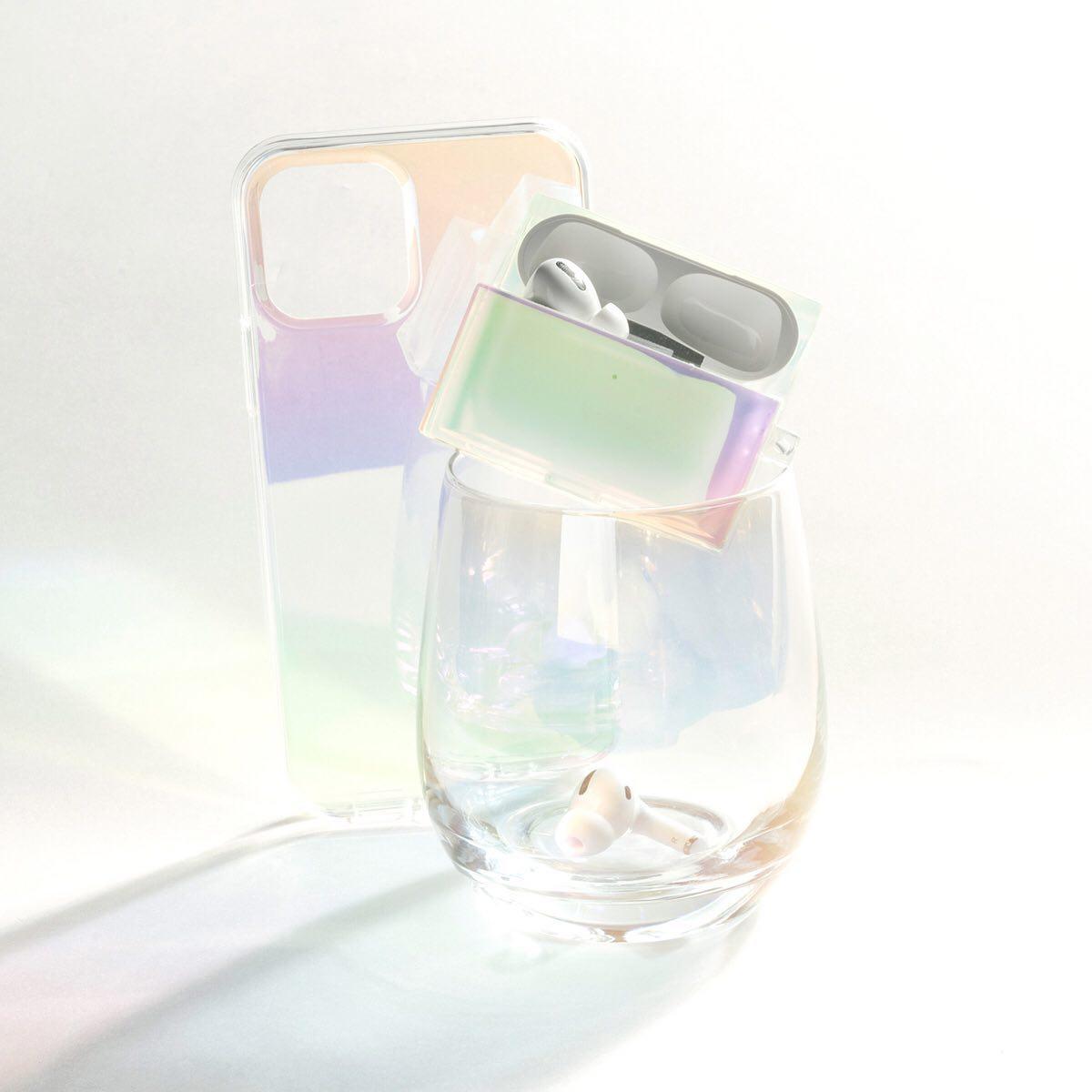 韓国 iPhoneケース キラキラ オーロラ ホログラム 偏光 人気 可愛い きらい トレンド おしゃれ