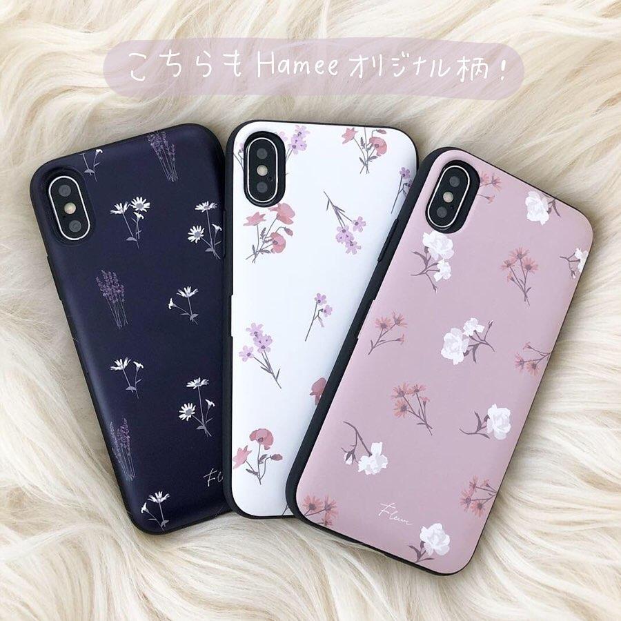 韓国 カード収納 くすみカラー 花柄 latootoo  iPhoneケース 人気 可愛い トレンド おしゃれ
