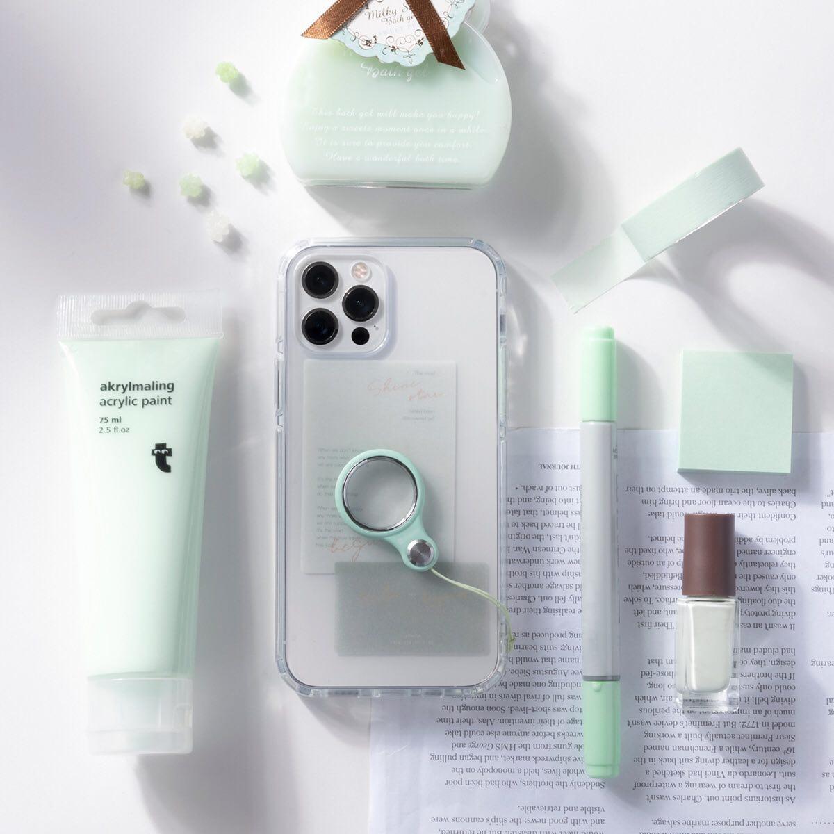 iPhoneケース 韓国っぽい 人気 トレンド おしゃれ かわいい 透明 クリア 抗菌