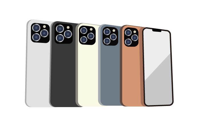 iPhone13 Prp/iPhone13 ProMaxの新色カラー。「マットブラック」「サンセットゴールド」「ローズゴールド」が追加の予想。